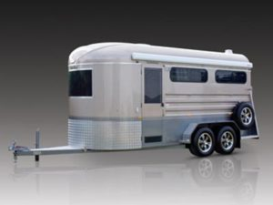 overnighter showman horse float trailer