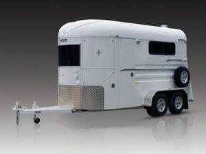 warmblood warm blood 2 horse float trailer standard straight load